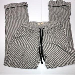 Women's UGG  pin stripe pants Sz S